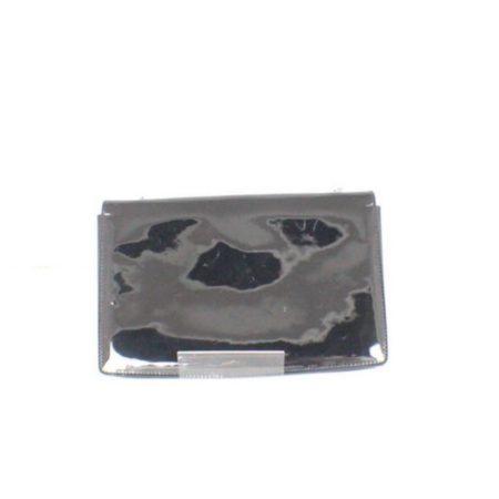SALVATORE FERRAGAMO Black Patent Leather Evening Crossbody Item14969 e