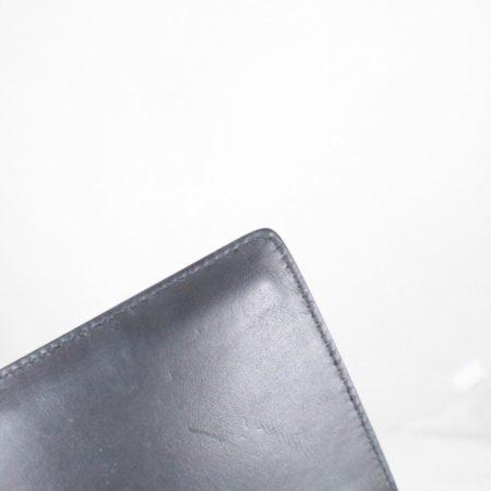 SALVATORE FERRAGAMO Black Patent Leather Evening Crossbody Item14969 h