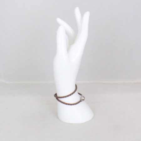 PANDORA Brown Rope Bracelet Item16038 d
