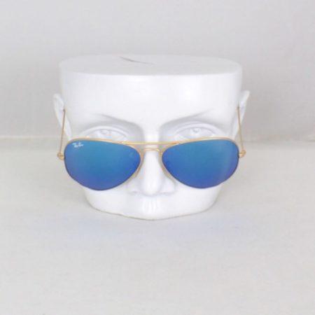 RAY BAN Blue Aviator Sunglasses Item15845 b