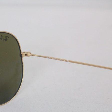 RAY BAN Blue Aviator Sunglasses Item15845 e