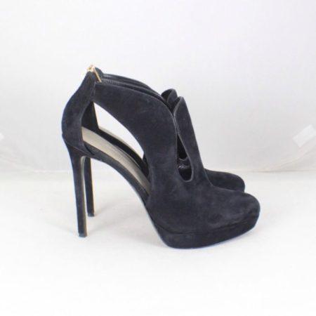 AERIN Black Suede Booties size US 8.5 Eur 38.5 item7033 b