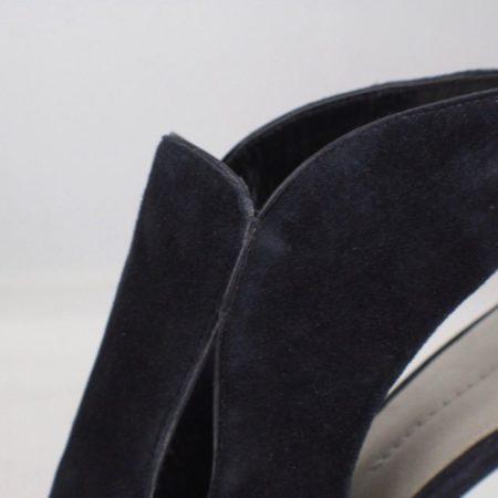 AERIN Black Suede Booties size US 8.5 Eur 38.5 item7033 g