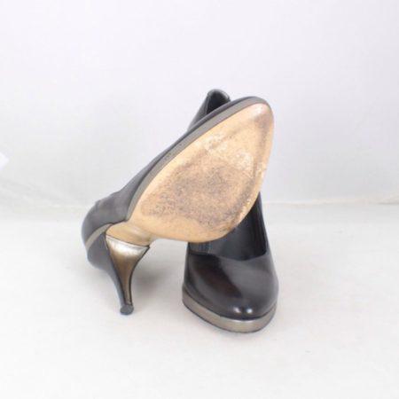 HUGO BOSS Black Leather Pumps size US 6 Eur 36 item13829 d