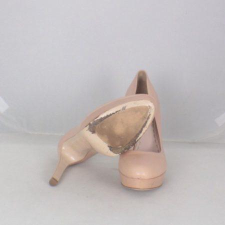 JIMMY CHOO 17460 Blush Platform Heels size US 9 Eur 39 d
