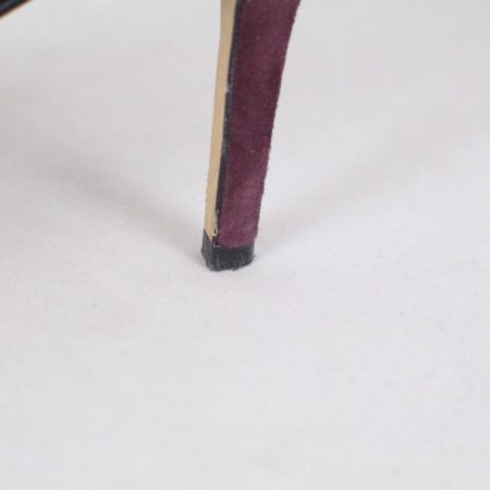 KARL LAGERFELD Burgundy Suede Booties size US 6.5 Eur 36.5 item15739 g