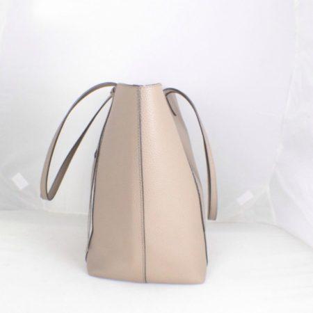 REBECCA MINKOFF Grey Leather Tote item17075 f