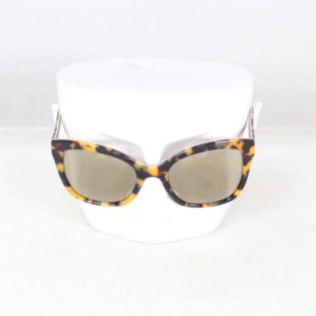 DOLCE GABBANA 18811 Tortoise Rectangular Sunglasses c