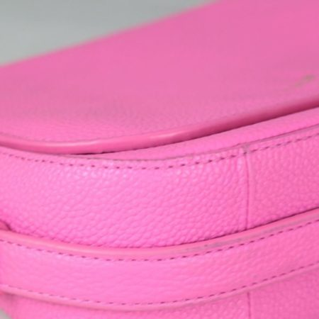 KATE SPADE 18576 Hot Pink Leather Crossbody e