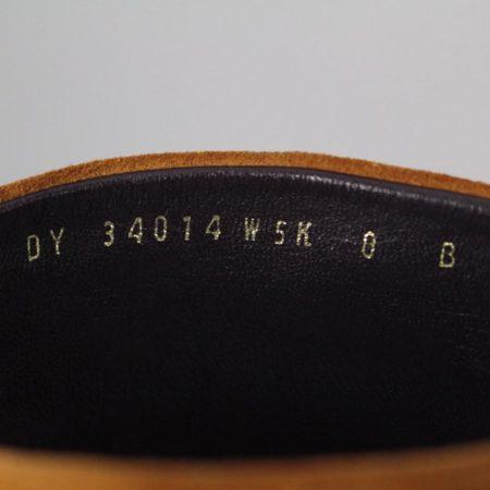 SALVATORE FERRAGAMO 19583 Camel Suede Boots size US 8 Eur 38 h