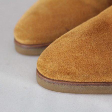 SALVATORE FERRAGAMO 19583 Camel Suede Boots size US 8 Eur 38 j