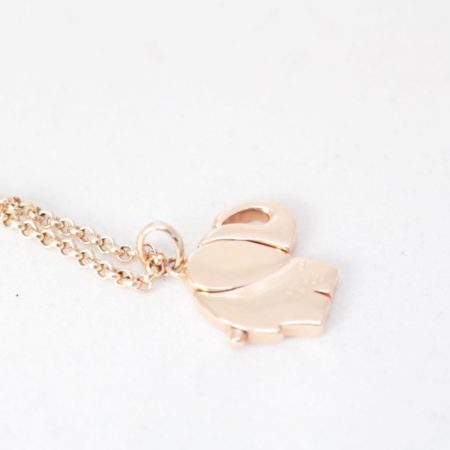 TOUS 19195 Rose Gold Elephant Necklace e