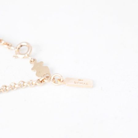 TOUS 19195 Rose Gold Elephant Necklace f