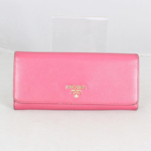 PRADA 20779 Hot Pink Leather Wallet a
