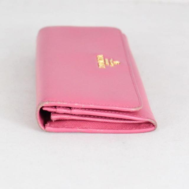 PRADA 20779 Hot Pink Leather Wallet b