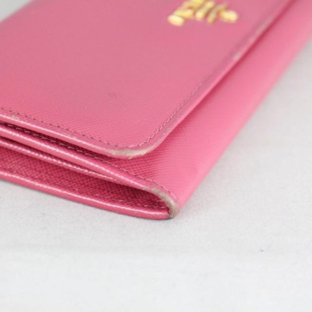 PRADA 20779 Hot Pink Leather Wallet c