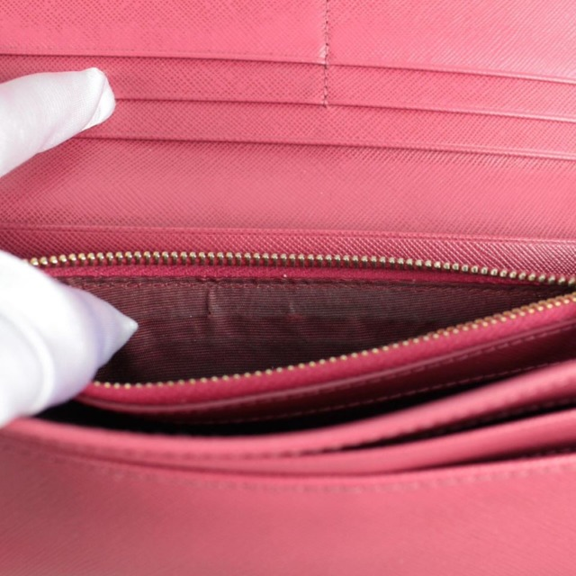 PRADA 20779 Hot Pink Leather Wallet e