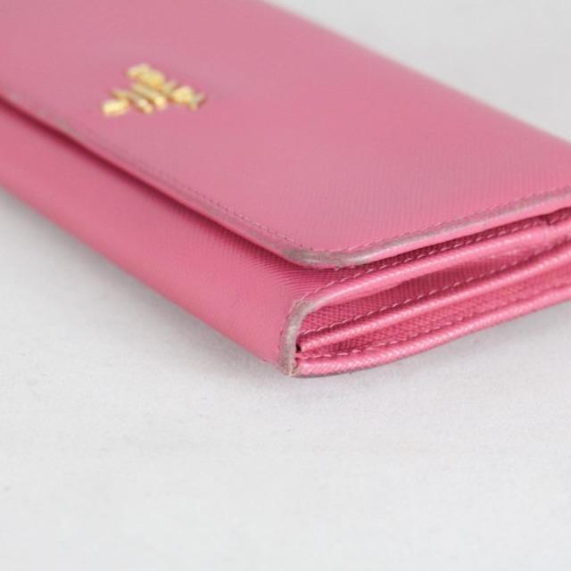 PRADA 20779 Hot Pink Leather Wallet i