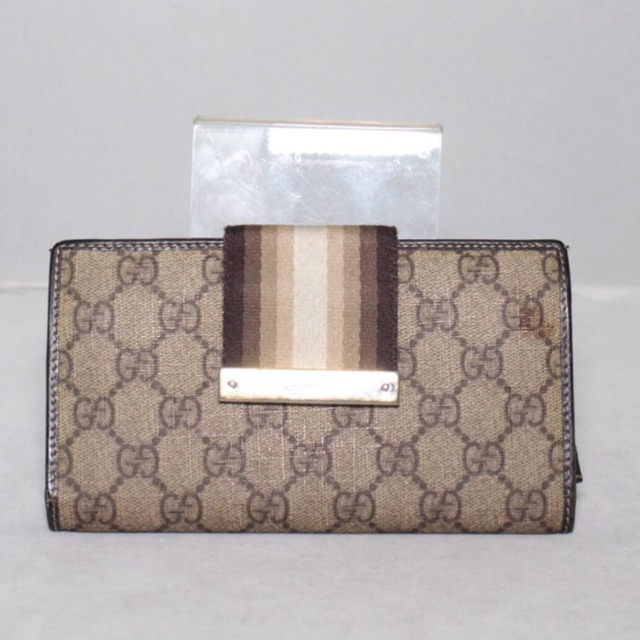 GUCCI Tan Guccissima Bifold Wallet 21259 a