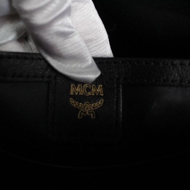 MCM 21038 Tan Leather Backpack j