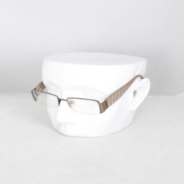 MICHAEL KORS 18856 Tan Rectangular Optical Glasses a