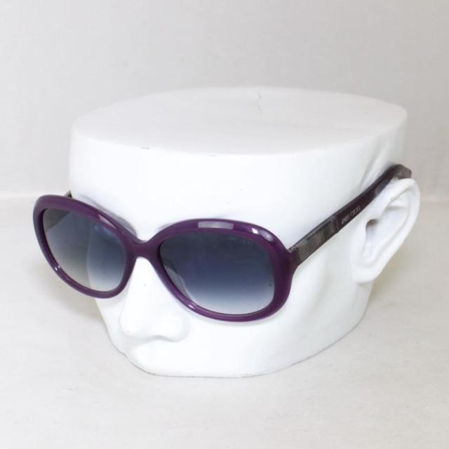 JIMMY CHOO Purple Monique Oval Sunglasses 1371 a