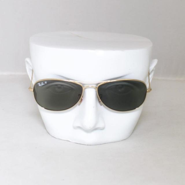 RAY BAN Polarized Cockpit Sunglasses 7144 b