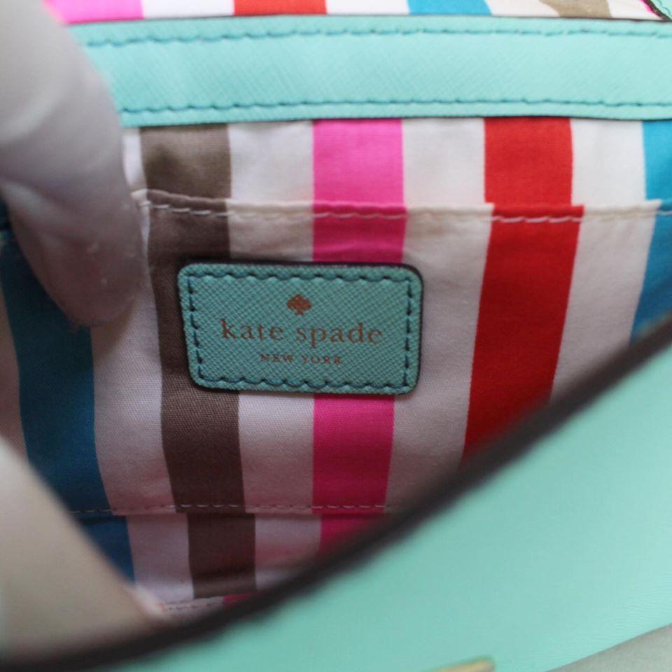 KATE SPADE Mint Leather Crossbody 23006 g