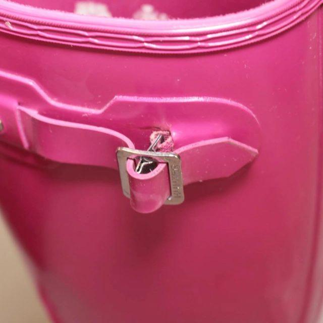 HUNTER Hot Pink Rainboots 8 US 38 EU 25225 g