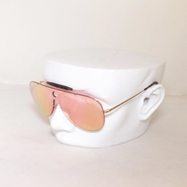 RAYBAN Red Aviator Sunglasses 24873 a
