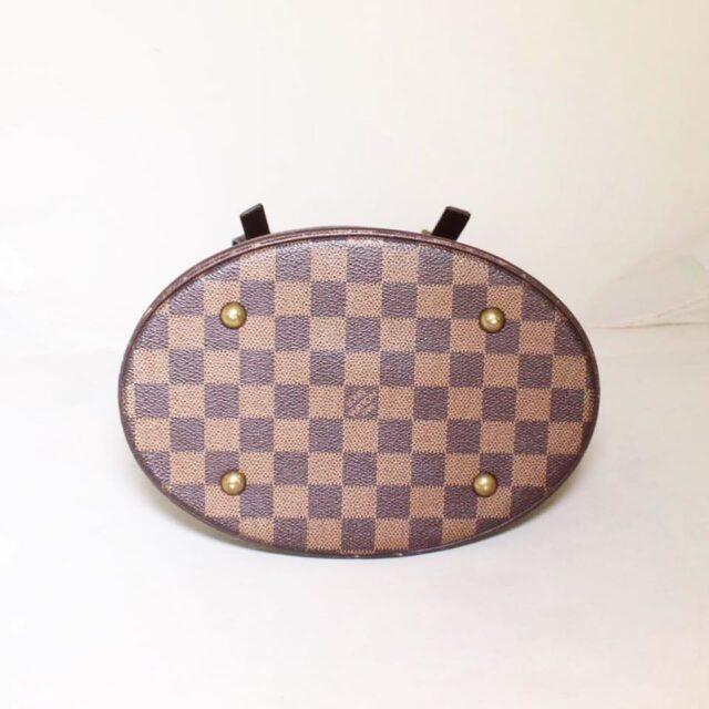 LOUIS VUITTON Damier Ebene Bucket Handbag 25401 c