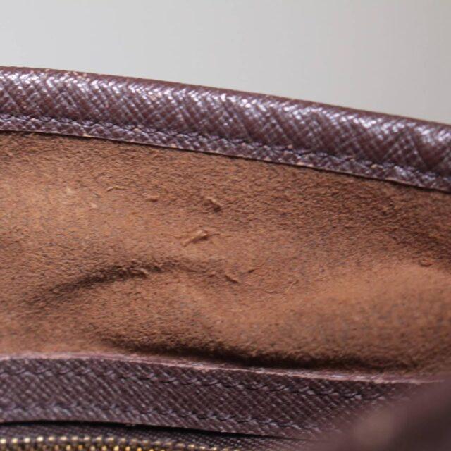 LOUIS VUITTON Damier Ebene Bucket Handbag 25401 e