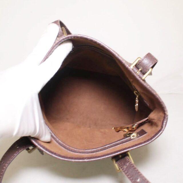 LOUIS VUITTON Damier Ebene Bucket Handbag 25401 f