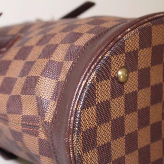 LOUIS VUITTON Damier Ebene Bucket Handbag 25401 g