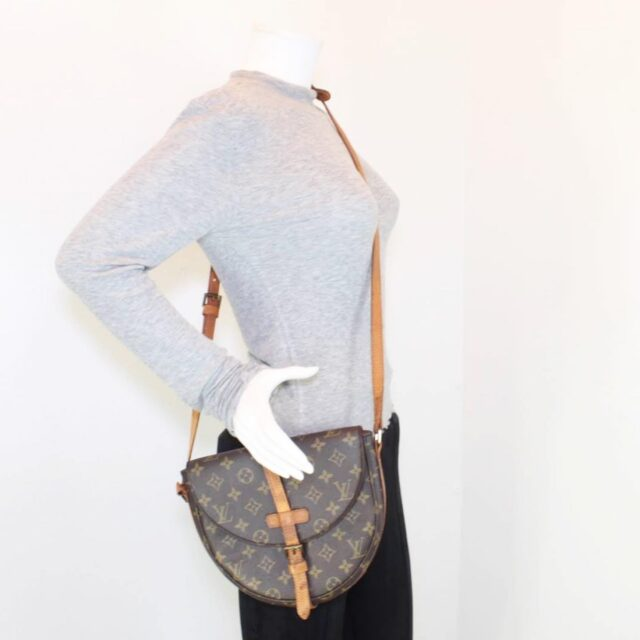 LOUIS VUITTON Monogram Canvas Chantilly GM 25545 j