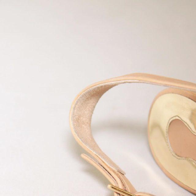 SALVATORE FERRAGAMO Nude Slingback Heels US 7 EU 37 25255 e