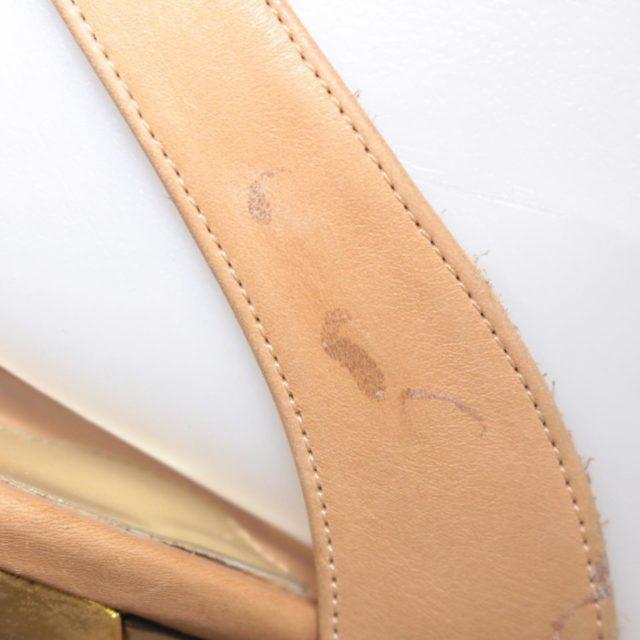 SALVATORE FERRAGAMO Nude Slingback Heels US 7 EU 37 25255 h