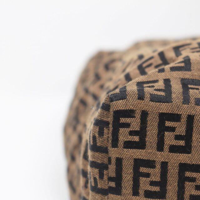 FENDI Brown Canvas Large Handbag 25889 f