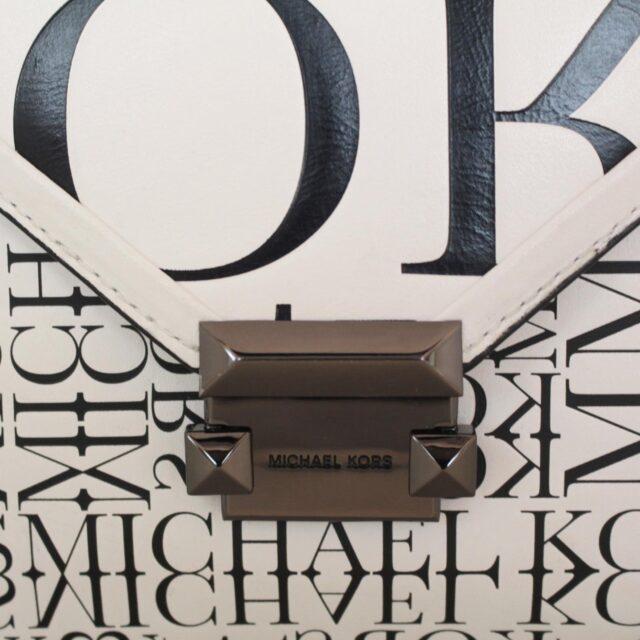 MICHAEL KORS Black and White Crossbody 25633 e