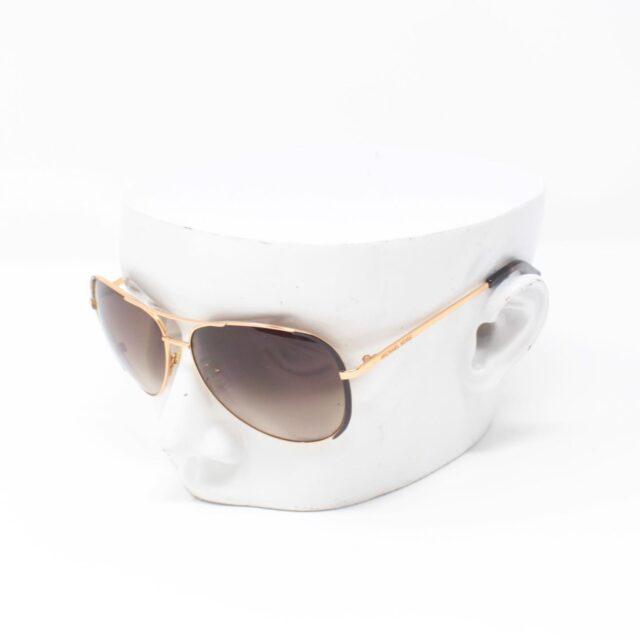 MICHAEL KORS Brown Aviator Sicily Sunglasses 25665 a