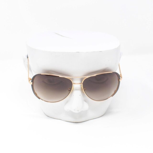 MICHAEL KORS Brown Aviator Sicily Sunglasses 25665 c
