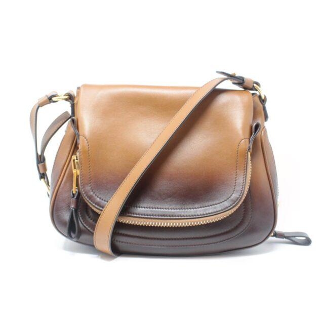 TOM FORD Brown Jennifer Handbag Crossbody 25920 a