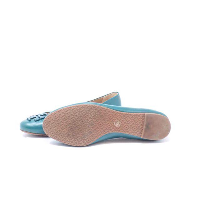 TORY BURCH Turquoise Ballerina Flats US 7 EU 37 25611 c