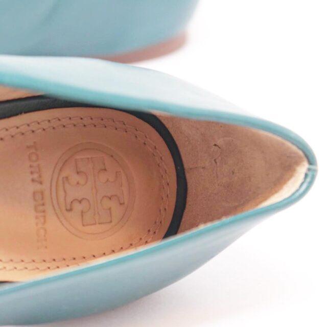TORY BURCH Turquoise Ballerina Flats US 7 EU 37 25611 e