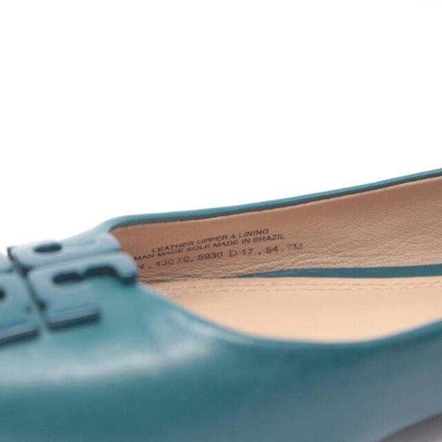 TORY BURCH Turquoise Ballerina Flats US 7 EU 37 25611 g