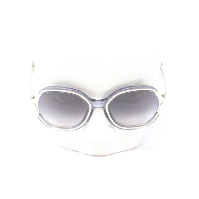 CHLOE Grey Oval Sunglasses 25911 b