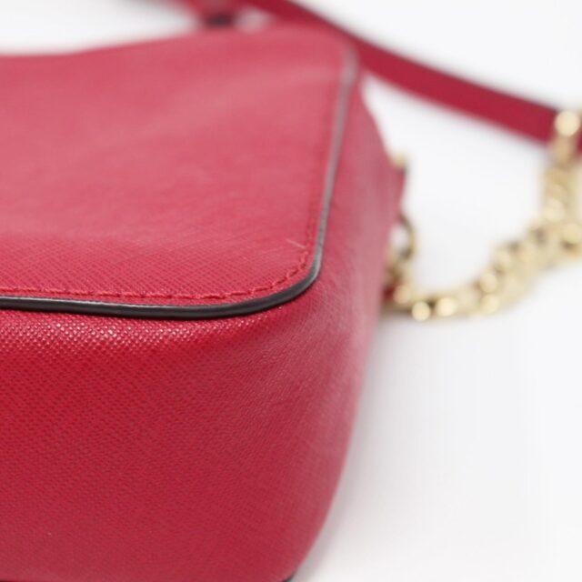 MICHAEL KORS Red Leather Crossbody Bag 26227 d