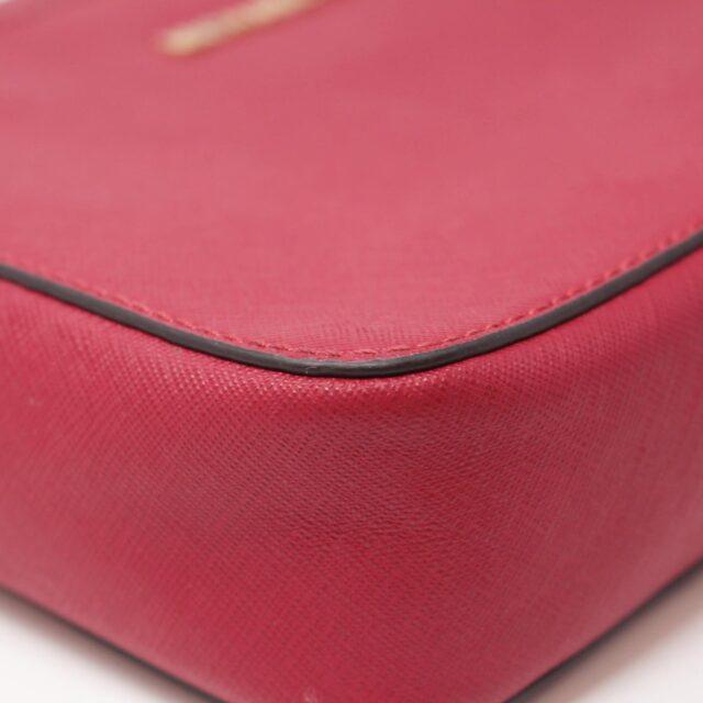 MICHAEL KORS Red Leather Crossbody Bag 26227 e