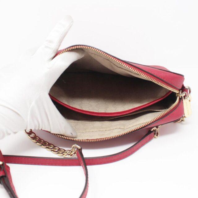 MICHAEL KORS Red Leather Crossbody Bag 26227 f