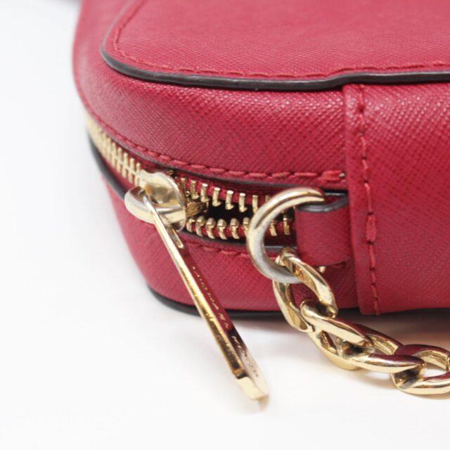 MICHAEL KORS Red Leather Crossbody Bag 26227 h